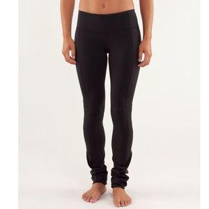 LULULEMON | Black Virtue Energy Luon Legging Pant